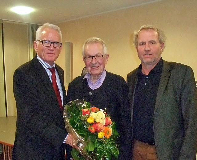 Hospizstiftung: Verabschiedung von Klaus Kayser