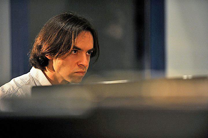 Jazz-Pianist Vadim Neselovskyi in der Schmiede