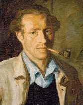Porträt von Hermann Springborn aus Oeventrop. (Quelle. Sauerländer Heimatbund)