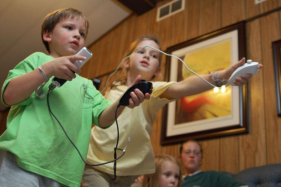 Der Gaming-Treff in der Stadtbibliothek Sundern wird von den Kindern angenommen. (Foto: Stadtbücherei)