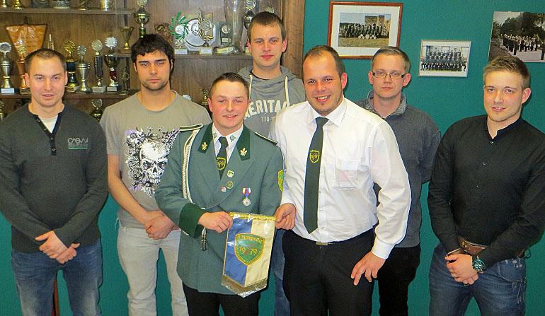 Alexander Pusch führt Schreppenberger Jungschützen