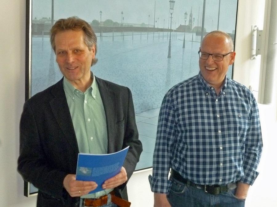 """Johannes Nawrath zeigt """"Blaue Bilder im Blauen Haus"""""""