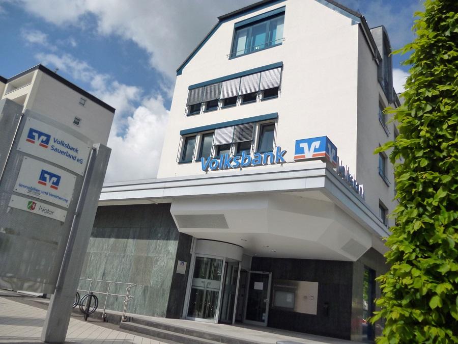 Volksbank Sauerland schließt Filialen an vier Standorten zum April