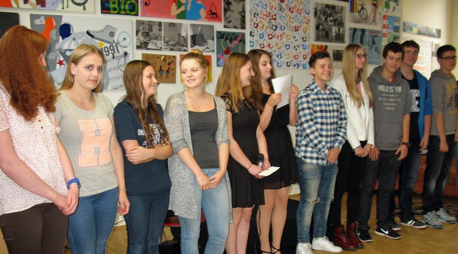 Erster Laurenz-Mensa-Poetry-Slam war furioser Schuljahrabschluss