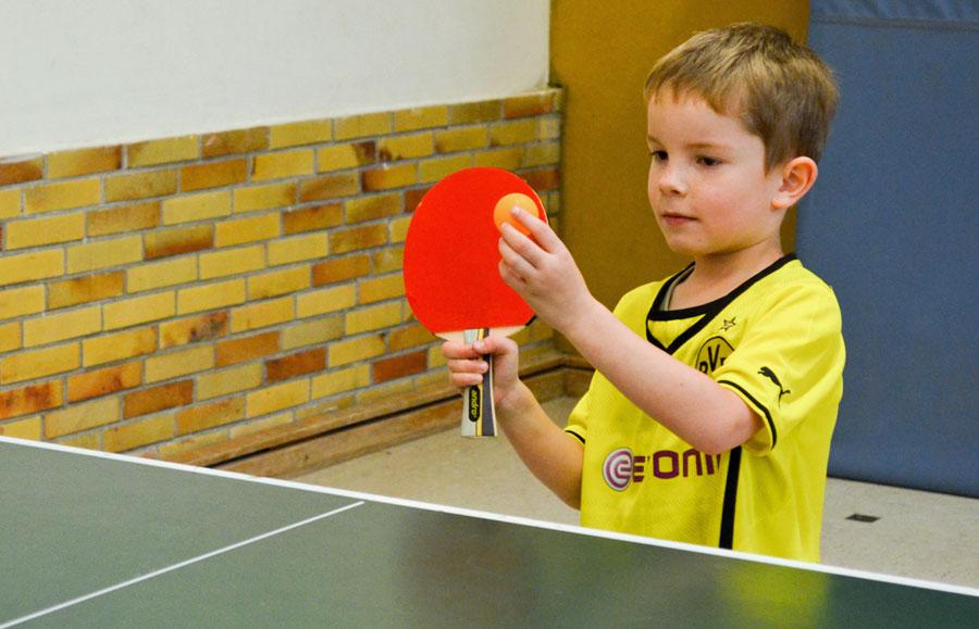 Minimeisterschaften im Tischtennis beim DJK GW Arnsberg