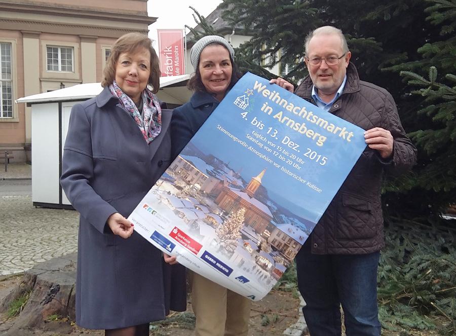 Verkehrsverein lädt zum 23. Arnsberger Weihnachtsmarkt ein