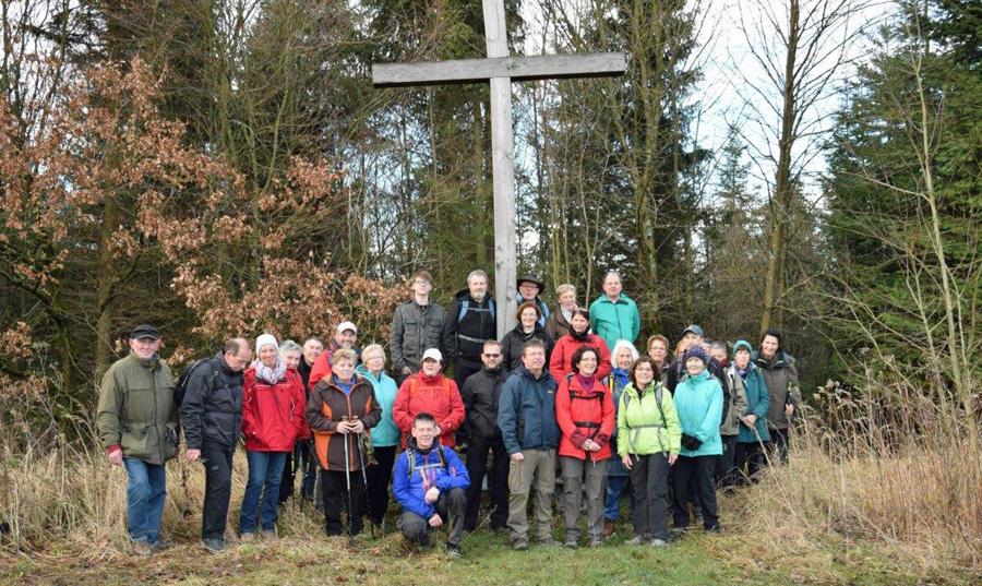 SGV Langscheid startet neues Wanderjahr im Balver Wald