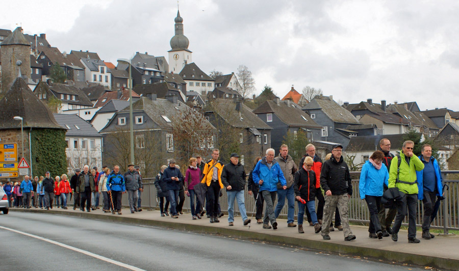 Arnsberger SGV-Abteilungen gemeinsam auf Wanderschaft