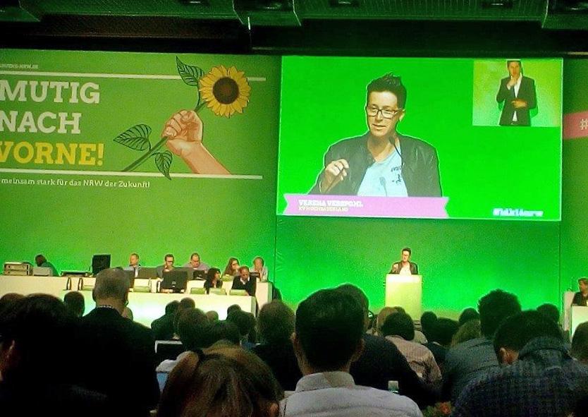 Verena Verspohl erneut im Grünen-Landesvorstand
