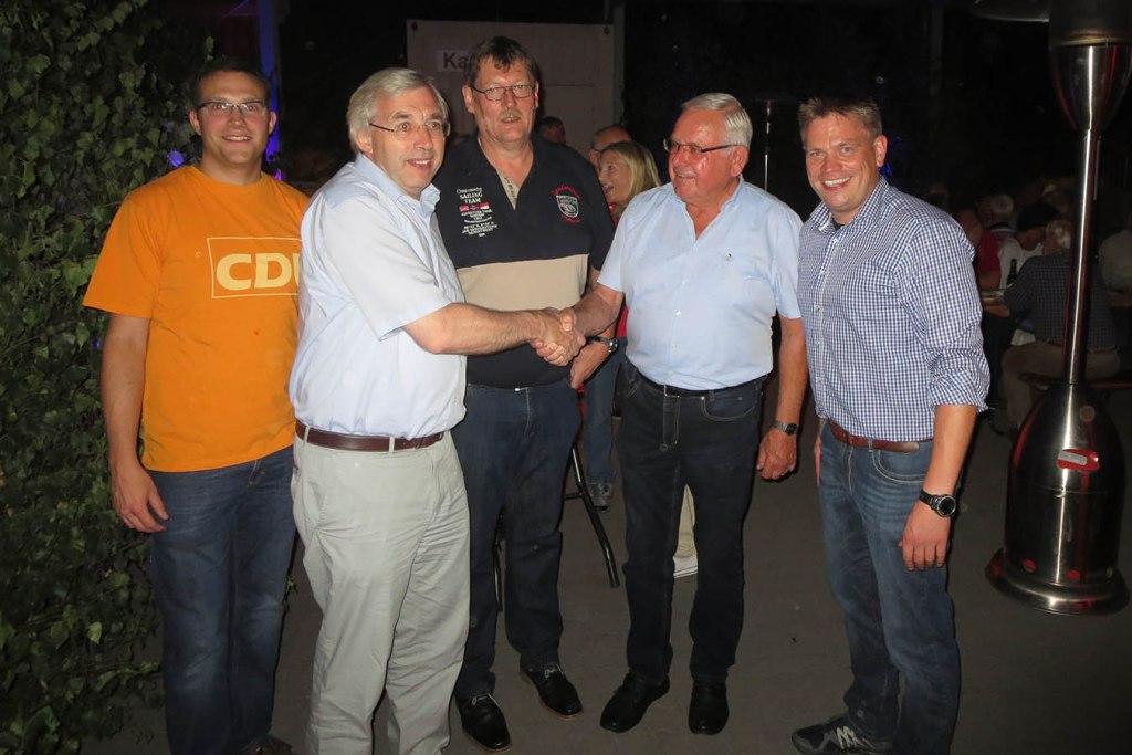 CDU-Dämmerschoppen: Günther Ischen seit 50 Jahren Mitglied