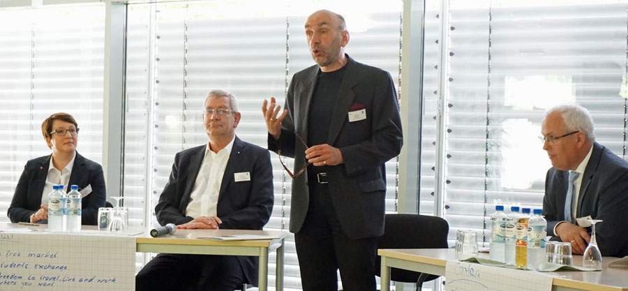 """Berufskolleg diskutiert über """"gemeinsame Idee Europa"""""""