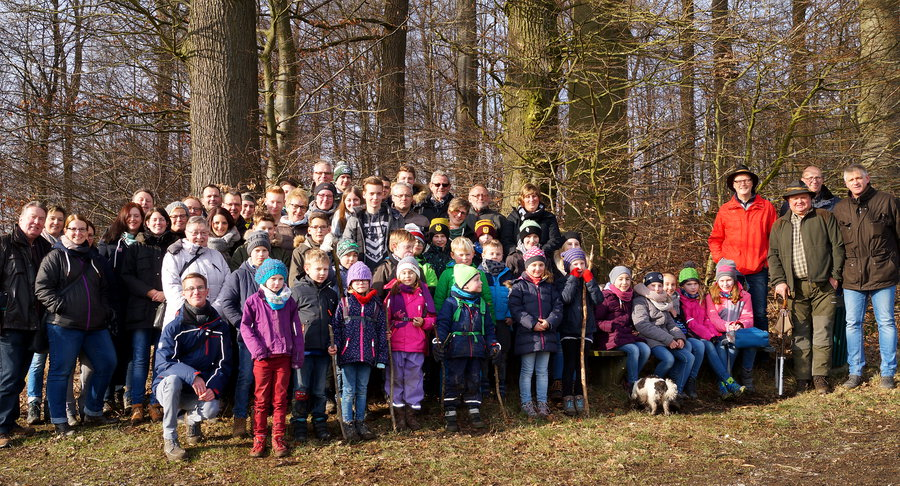 Spielmannszug Müschede auf Wintertour