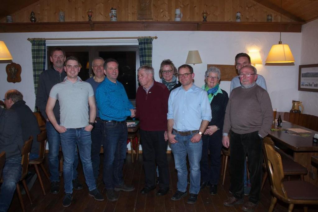 Ehrungen und Vorstandswahlen beim SGV Müschede