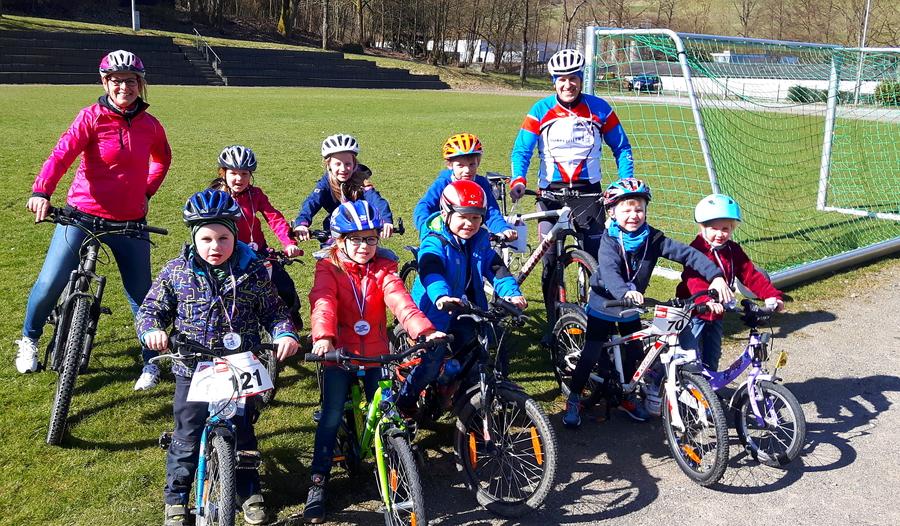 Hagener Kids für Megasports gerüstet