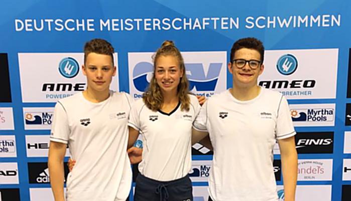 Erfolge für Neptuner Lea-Sophie Blum und Moritz Kemper