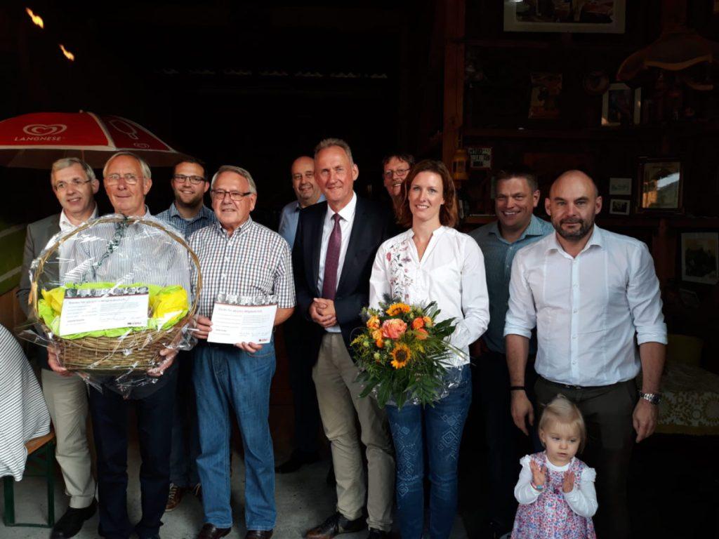 Dämmershoppen der CDU Bruchhausen: Meinolf Reuther seit 50 Jahren Mitglied