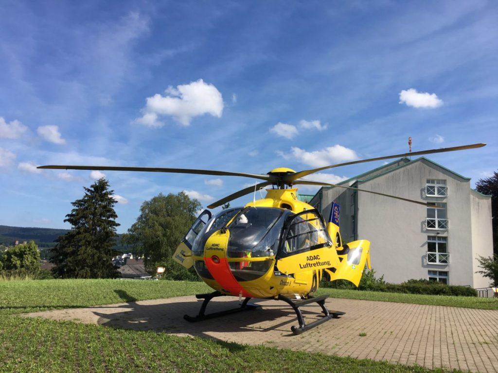 Neuer 200.000-Euro-Hubschrauberlandplatz sichert Notfall-Standort Meschede