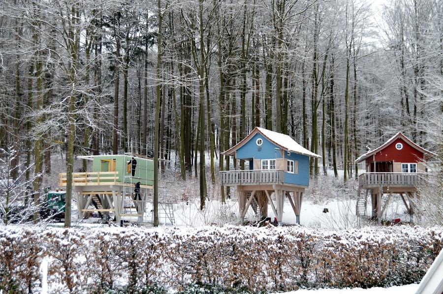 Baumhaus Michel – Zuwachs am Sorpesee