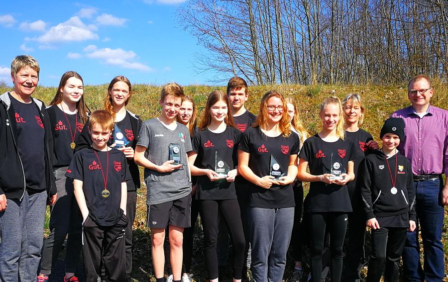 TuS-Schwimmer gewinnen fünf Kreismeistertitel