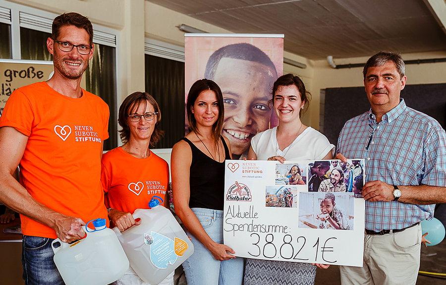 200 Jahre Mühlenbäckerei – fast 40.000 Euro für Brunnen-Projekt