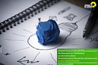 Grüne starten Wahlkampf-Ideenwettbewerb