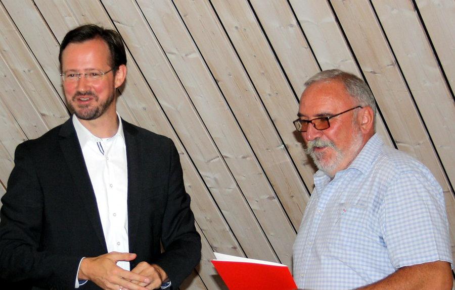 SPD im Alten Testament ehrt Jubilare