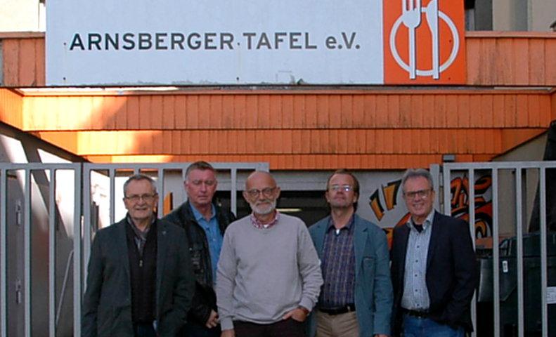 SPD-Ratsfraktion besucht Arnsberger Tafel