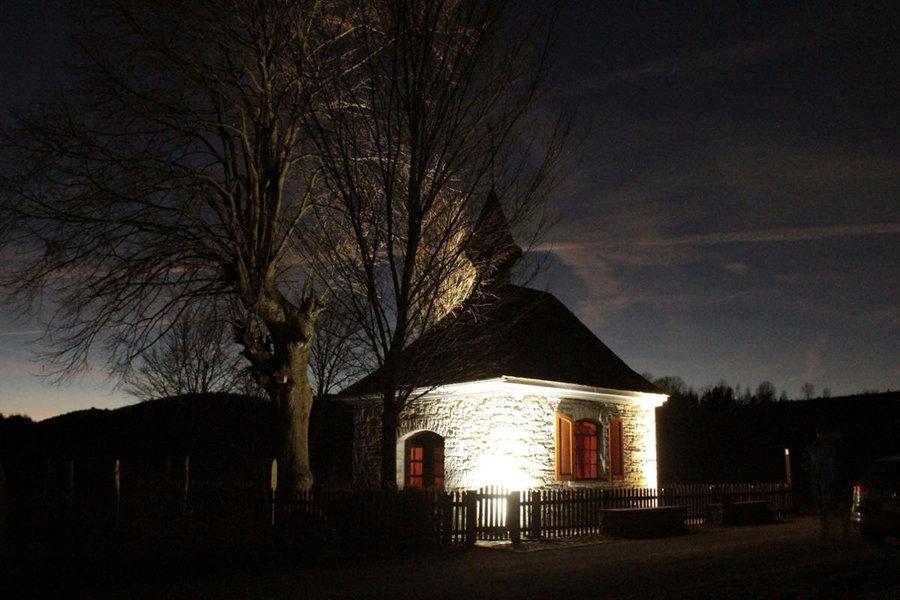Kapellenbeleuchtung wird feierlich eingeweiht