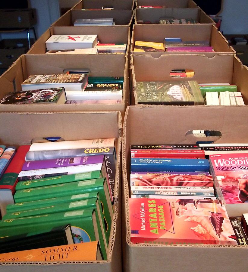 Jetzt Bücher spenden für Flohmarkt 2020
