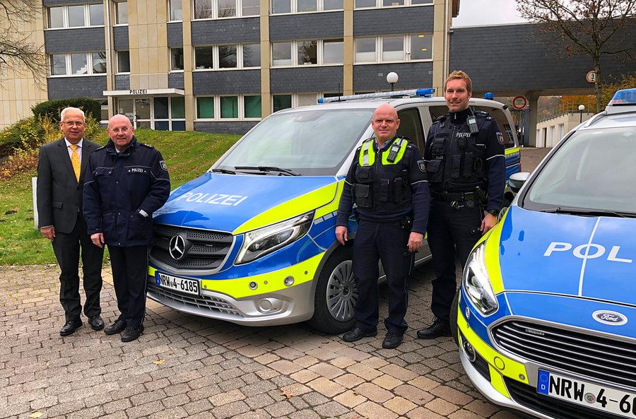 Polizei bekommt neue Streifenwagen