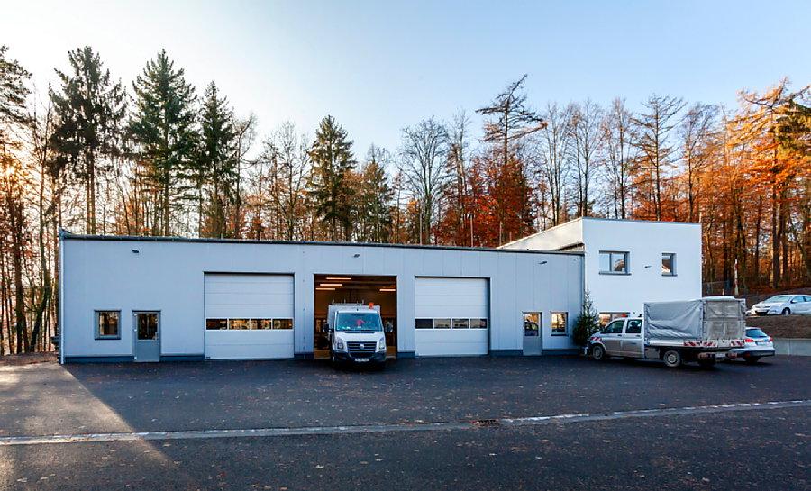 Ruhrverband jetzt im neuen zentralen Betriebsgebäude
