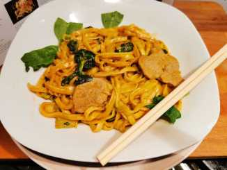 Pittige Thaise curry met mie