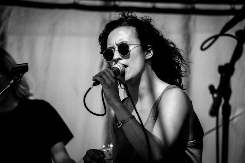 EUT tijdens een optreden op Oerol 2017.