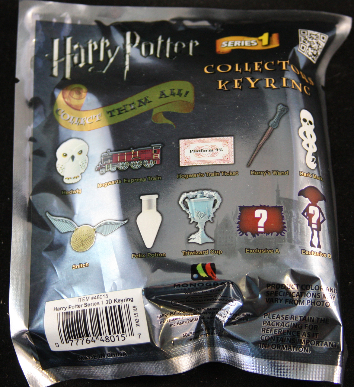 Bags Potter Harry Blind