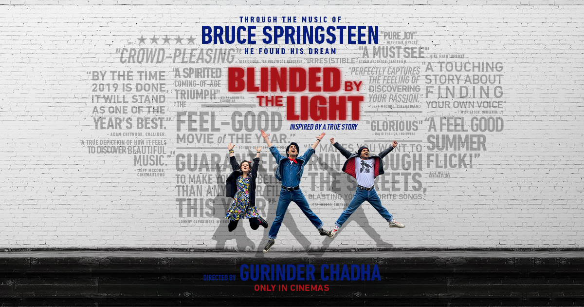 Image result for blinded by the light poster
