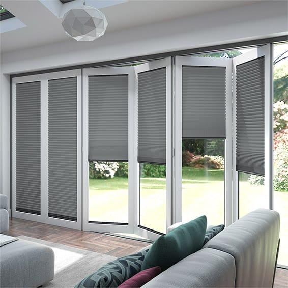 Blinds For Bifold Doors Energy Saving Blinds For Bifold Doors