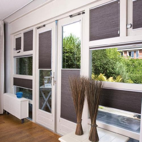 """3/8"""" Double Cell Blackout Shades"""