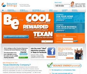 Bounce Energy Texas electricity savings