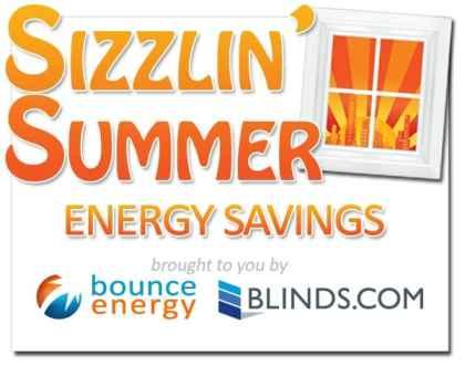 Sizzlin Summer Bounce Energy Blinds.com