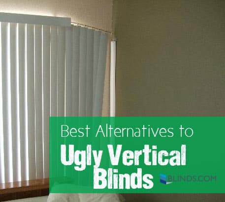 ... vertical blinds were the only covering option for sliding glass doors  and large windows, have we got news