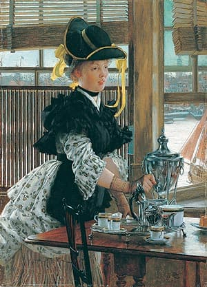 Tea- James Tissot Venetian Blinds