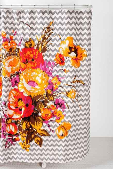 Corsage shower curtain urban outfitters