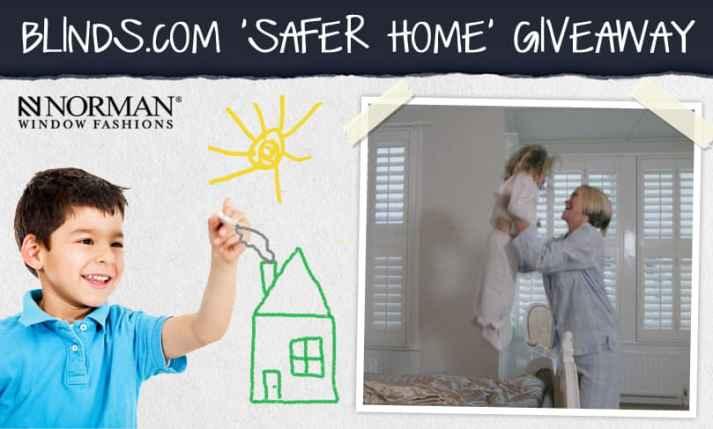 Window Covering Safety Month giveaway Blinds.com