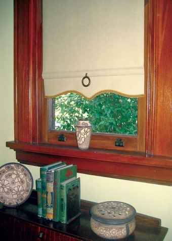 Window Treatments for Arts and Crafts era homes