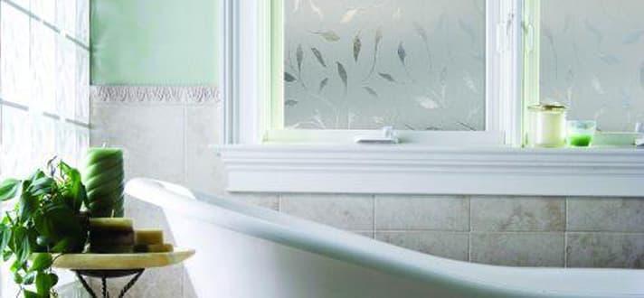 bathroom window treatments - Bathroom Window Treatments