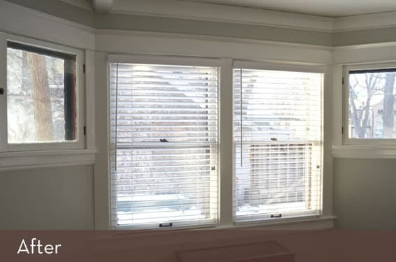 Curbly window makeover after