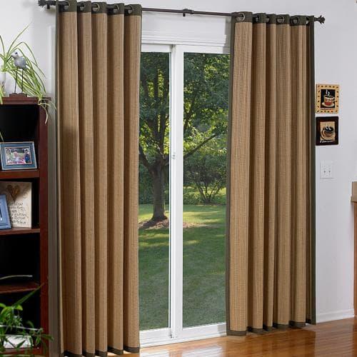 Blinds.com Brand Woven Wood Grommet Panels