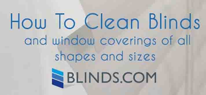 How To Clean Blinds Window Treatment Cleaning Guide The