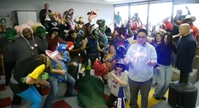 Harlem Shake video from Blinds.com