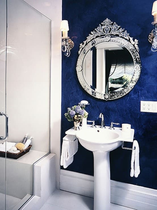 Monaco Blue Bathroom